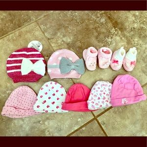 Infant hats and booties